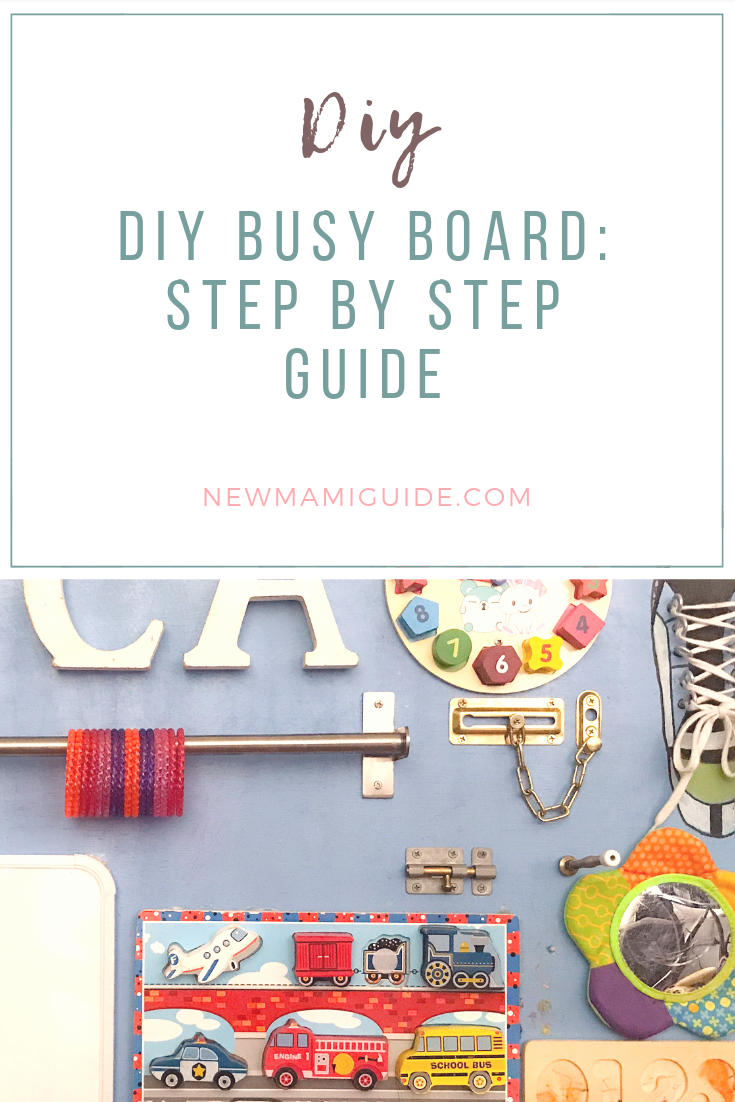 Diy Busy Board Step By Step Guide